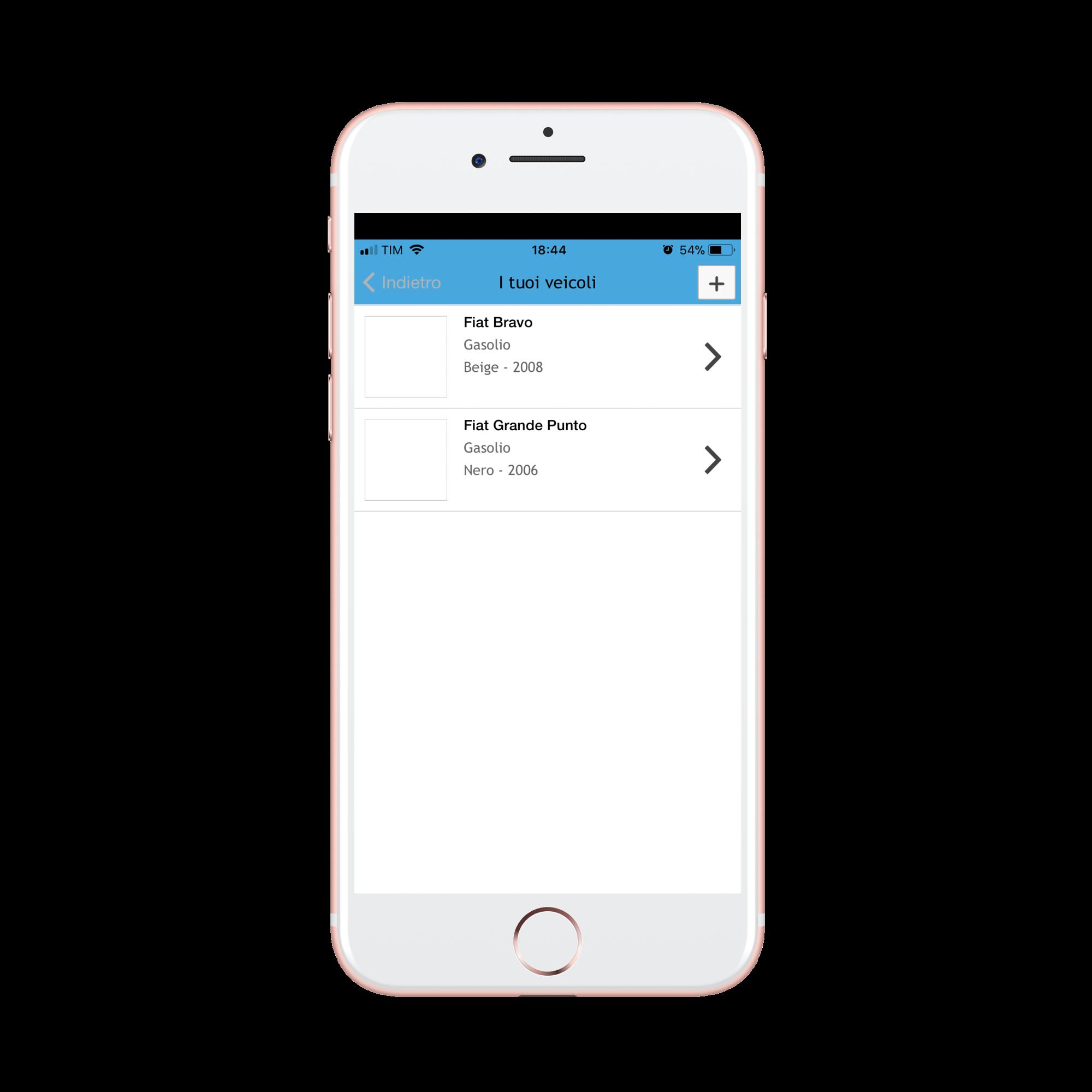 Iphone - MyAuto App